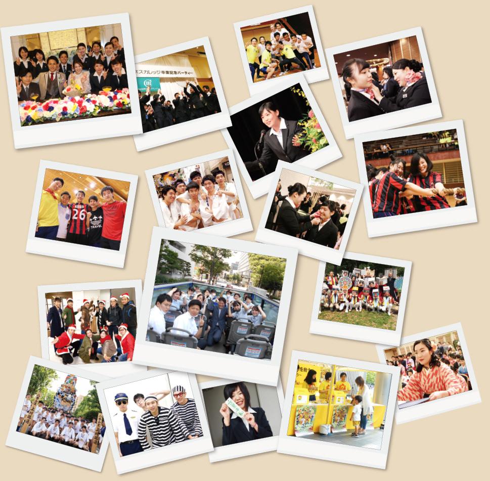 福岡の専門学校西鉄国際ビジネスカレッジのキャンパスライフ